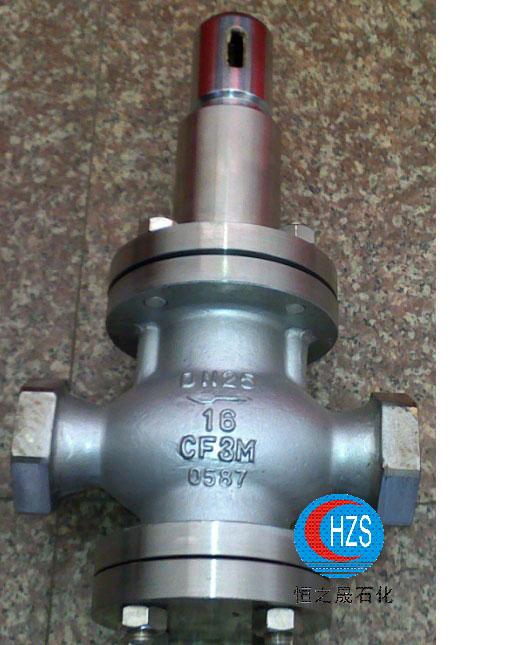 y12x/y42x弹簧活塞式减压阀(水,空气,油品)图片